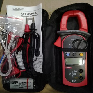 Clamp Multimeter UNI-T UT204A in ambalajul original .jpg